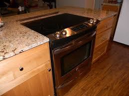 Kitchen Islands With Stove Kitchen Classic Black Kitchen Islands With Stove And Marble