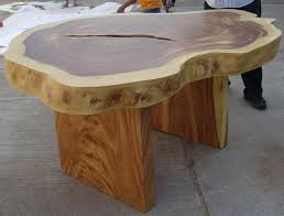 image of 60 solid wood round dining table
