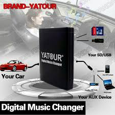 yatour bluetooth car adapter digital music cd changer cdc connector car adapter aux mp3 sd usb music cd changer cdc connector for suzuki swift vi jimny