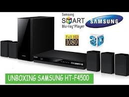 samsung home theater setup. unboxing home theater blu-ray 3d samsung ht-f4500 setup t