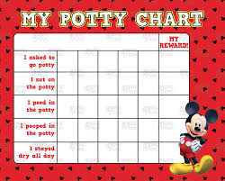 printable mickey mouse potty training chart punch cards printable mickey mouse potty training chart punch cards digital jpg files instant