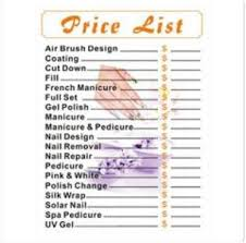 Fj Salon Price List — Samnailsupply.com