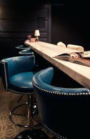 Blue Leather Counter Stools Wonderful Best Wooden Swivel Bar Ideas  On Subway Inside Ordinary Light  Blue Leather Bar Stools T66