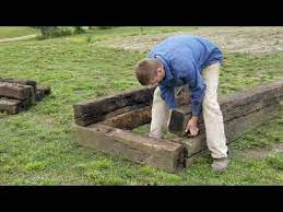 free railroad ties for raised beds