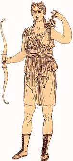 artemis costume women. artemis demanded complete chastity from her followers and when one of nymphs, callisto, was seduced by zeus pregnancy revealed, costume women
