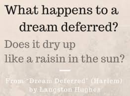 how the poetry of langston hughes inspired martin luther king s dream deferred