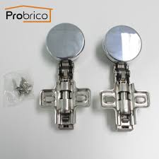 probrico pcs self closing furniture glass cabinet curio door hinges hinge concealed