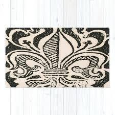 fleur de lis rug distressed rug maillot rugby fleur de lys