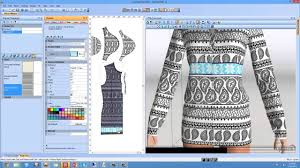 Design Clothes Online Free Software Pattern Cutting Software Ladies Top Design 2d Pattern Design And 3d Clothing Simulation Software