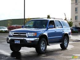 Horizon Blue Metallic 1999 Toyota 4Runner SR5 4x4 Exterior Photo ...