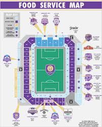 Orlando City Stadium Map Maps Template Sample Laz3rnojbq