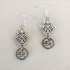 sea foam and pearl free gift wrapping sea glass earrings mint earrings