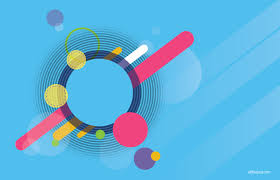 All Free Download Vector Design Abstract Blue Circle Background Free Psd And Graphic Designs