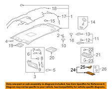 buick enclave interior lights. gm oem interiorrooflamp bezel 25838967 fits buick enclave interior lights