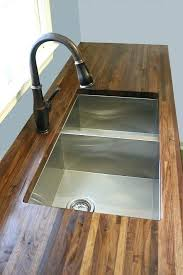 can you seal butcher block countertops how to cut seal install with an sink seal ikea