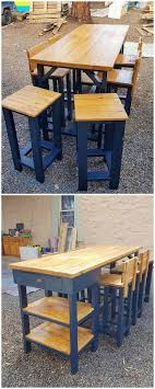 Wood Pallet Table Top Best 25 Pallet Dining Tables Ideas On Pinterest Table And Bench