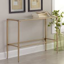 iron and glass console table oak contemporary medium sofa top low tables with storage large light in french narrow oiled