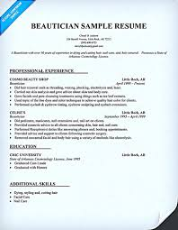 Cosmetologist Resume Is Used By Cosmetologist To Get Applied Or