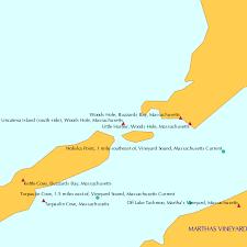 Uncatena Island South Side Woods Hole Massachusetts Tide