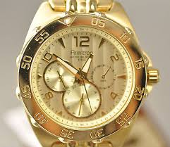 armitron mens gold plated chronograph watch model 20 4664gp new armitron mens gold plated chronograph watch model 20 4664gp shipping
