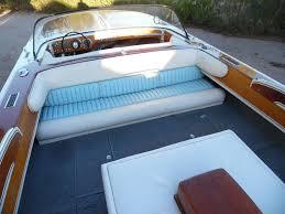 campbell mahogany wood boat and trailer 401 nailhead rare 1959