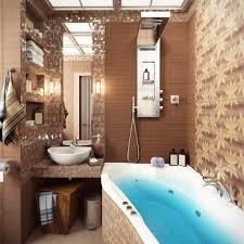 Brown Mosaic Bathroom Tile