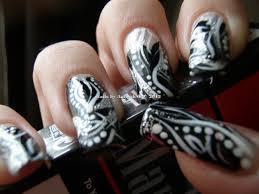 Nail Designs Black And Silver | Nail Art Designs