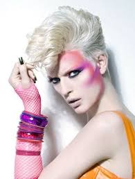 pink and orange makeup make up and hair claudia creuels client chillia