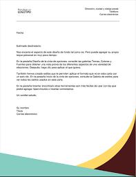 Carta De Recomendacion Personal No Laboral Carta De Recomendacion