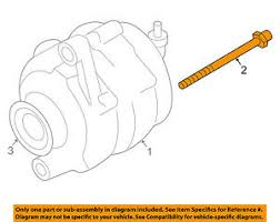 nissan oem alternator mount bolt 2009 Nissan Maxima Engine Diagram Alternator 2009 Nissan Versa Exhaust Diagram