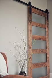 barn doors for interior door glass