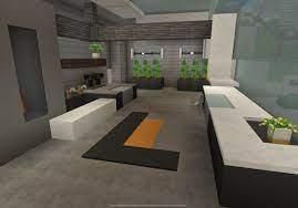 A Small Modern Kitchen Design Minecraft
