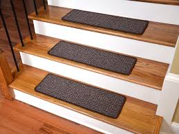 carpet stair treads. washable non-skid carpet stair treads - cobbler brown (15): staircase step treads: amazon.com: industrial \u0026 scientific s