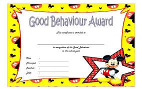 Principal Award Certificate Printable Award Certificates For Students Kids Template