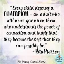 Inspirational Quotes For Teachers Magnificent The Daring English Teacher Inspirational Teacher Quotes