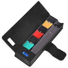 Evrensel uyumlu JUUL için elektronik sigara şarj cihazı için JUUL00 mobil  şarj bakla kutusu tutucu kutusu şarj kutusu|Furniture Accessories
