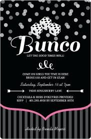 Game Night Invitation Template Pink And Black Dice Bunco Game Night Invitation Trivia Template Free