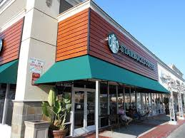 starbucks store exterior. Delighful Starbucks Enjoy Starbucks With A Side Of Awnings In Store Exterior