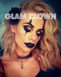makeup glam clown