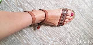 Новые <b>сандалии</b> нат кожа <b>KMB</b> на ногу 24 см купить в Москве на ...