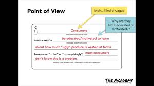Point Of View Statement Design Thinking