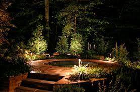 Outside Landscaping Lights Tree Patio Backyard Lighting Solar Flame Lights Outdoor