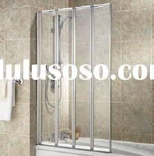 4 folding door bath screen shower screen