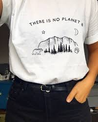 Limited Edition 15 There Is No Planet B Shirt Climate