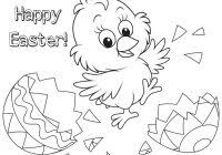 Easter Coloring Pages Pdf With 271 Free Printable Egg Free