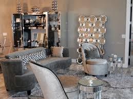 Hollywood Regency Beach House Contemporary Living Room
