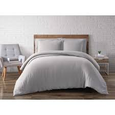 truly soft everyday silver grey king duvet set dcs1657sgykg 18 the home depot
