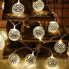 Diy Lantern Lights Amazon Com Fzz698 String Lights 20 Led Globe Fairy String