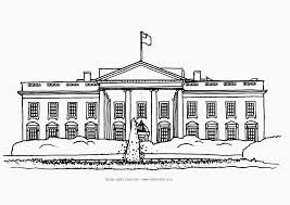 Small Picture White House Washington Coloring Page LetMeColor