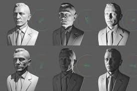 Face Lighting Reference Artstation Darren Pattenden Using Lighting To Help With